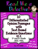 Read Like a Detective!{20 Opinion Passages w/Text-Based Ev