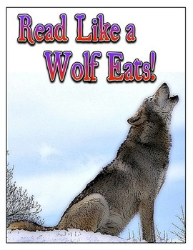 Read Like a Wolf Eats 40 Book Challenge!