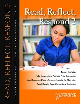 Read, Reflect, Respond Book 2