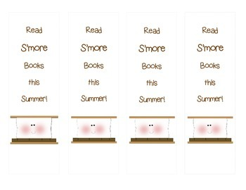 Read S'More Books this Summer bookmarks