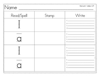 Read Spell Stamp Write High Frequency Word Wall Words Harc