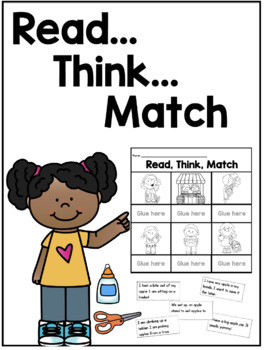 Reading Skills Pack 1: Read, Think, Match