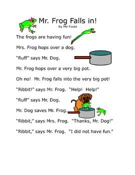 Read Together: Mr. Frog Falls In!
