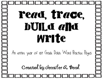 Read-Trace-Build-Write