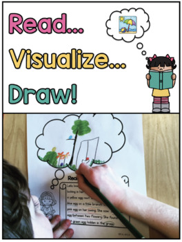 Reading Skills Pack 2: Read, Visualize, Draw Mega Pack