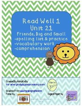 Read Well 1 Unit 21