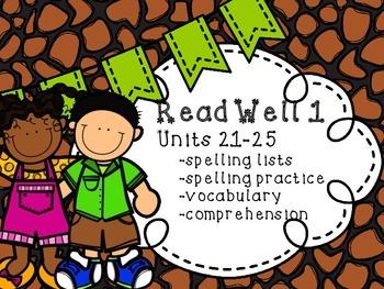 Read Well 1 Units 21-25 Bundle