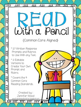 Read With a Pencil {A Close Reading Companion Pack}