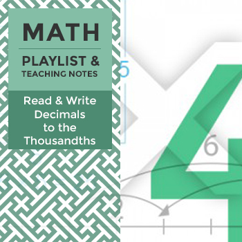Read & Write Decimals to the Thousandths