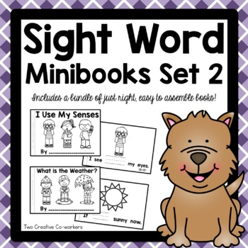 High Frequency / Sight Word Read and Write Printable Minib