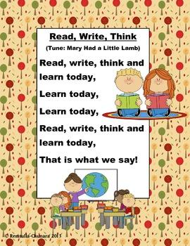 Read, Write, Think POEM