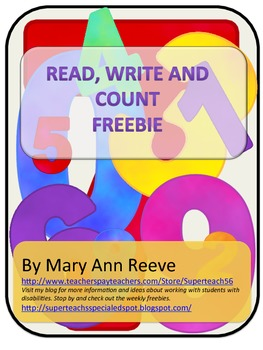 Read Write and Count:Sampler