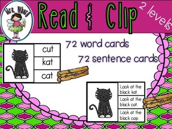 Read and Clip Cards