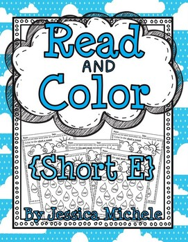 Read and Color {Short E}