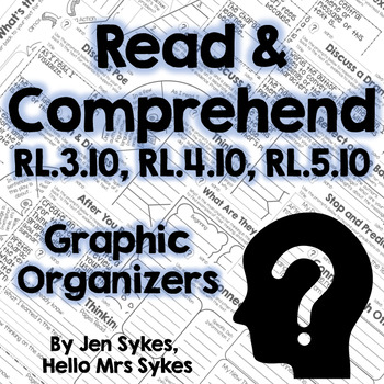 Read and Comprehend Fiction Graphic Organizers RL.3.10 RL.