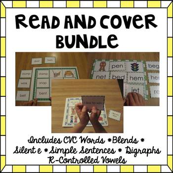 Read and Cover {Expanding BUNDLE}