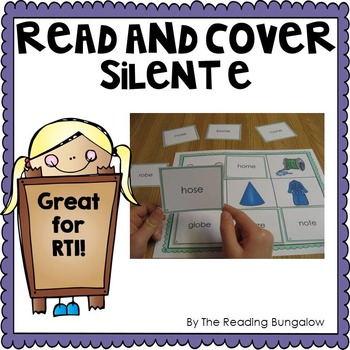 Read and Cover {Silent E Edition}