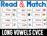 Read and Match Long Vowels cvce