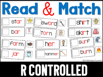 Read and Match R Controlled