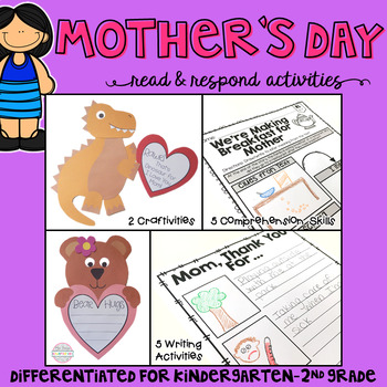 Mother's Day: Read and Respond