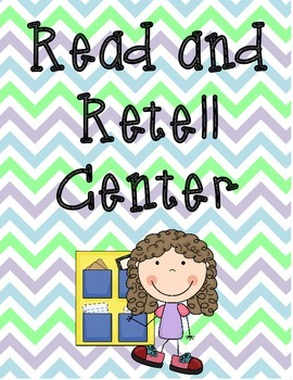 Read and Retell Center Labels (Freebie!)