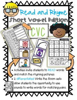 Read and Rhyme Short Vowel Words