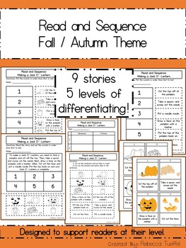 Read and Sequence Fall / Autumn Edition