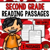 Second Grade Reading Comprehension Passages (FREE SAMPLE)