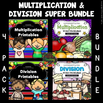 Multiplication & Division Worksheets - Multiplication and