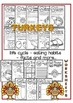 Read and Work - Turkeys Passages, Worksheets and Posters