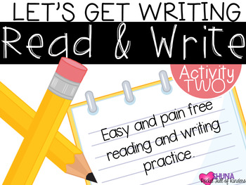 Read and Write 2 {A Let's Get Writing Center}