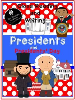 Read and Write About Presidents 2nd and 3rd Grades