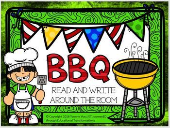 Read and Write Around the Room BBQ