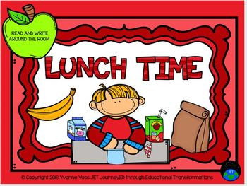 Read and Write Around the Room Lunch Time