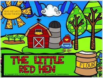 Read and Write Around the Room The Little Red Hen