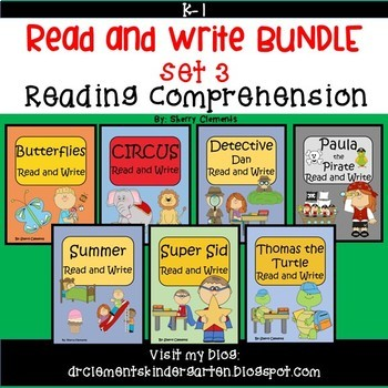 Read and Write Bundle (set 3)