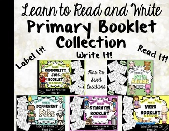 Read and Write-Primary Booklet Collection