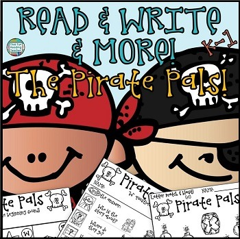 Read and Write and More - Pirates!