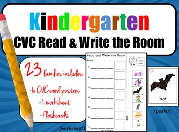 CVC Read and Write the Room