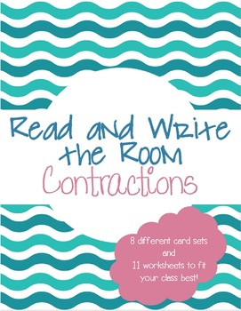 Read and Write the Room: Contractions