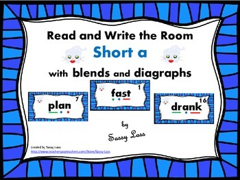 Read and Write the Room short a with blends and digraphs C