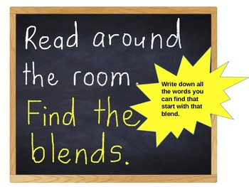 Read around the room blends