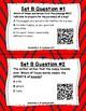 Read for Understanding QR Code Task Cards Set 3 IREAD Practice
