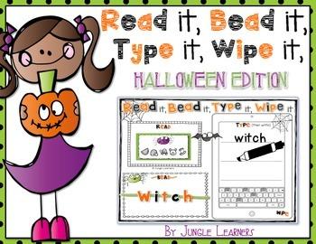 Read it, Bead it, Type it, Wipe it [Halloween Edition]