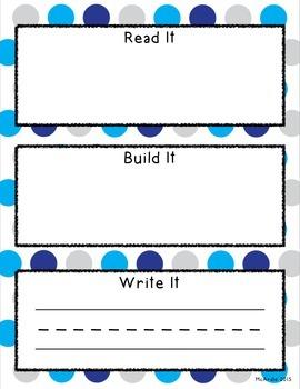 Read it Build it Write it