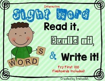 Read it! Build it! Write it!