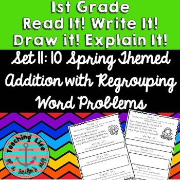 Read it! Write it! Draw it! Solve it! Word Problems Set 11
