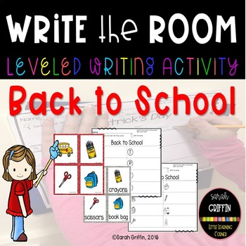 Read and Write the Room - Back to School SCOOT center