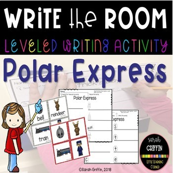 Read the Room - Polar Express - Scoot Activity