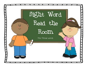 Read the Room- Pre Primer words